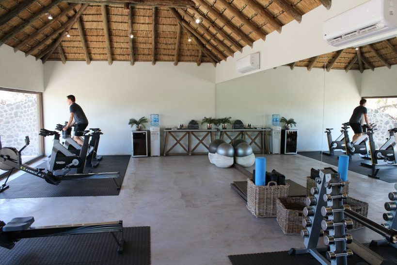 Londolozi Varty Camp gym