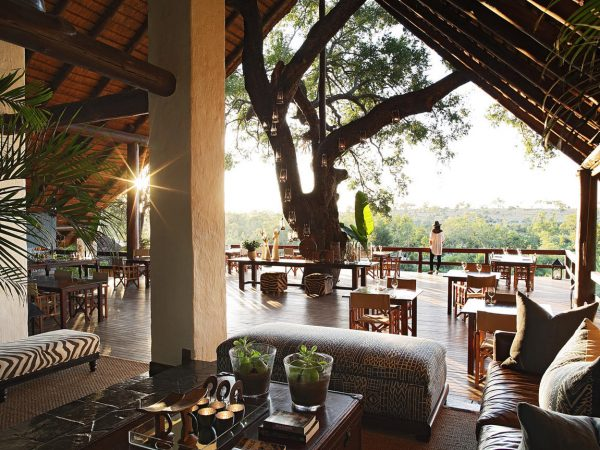 Londolozi Varty Camp lobby