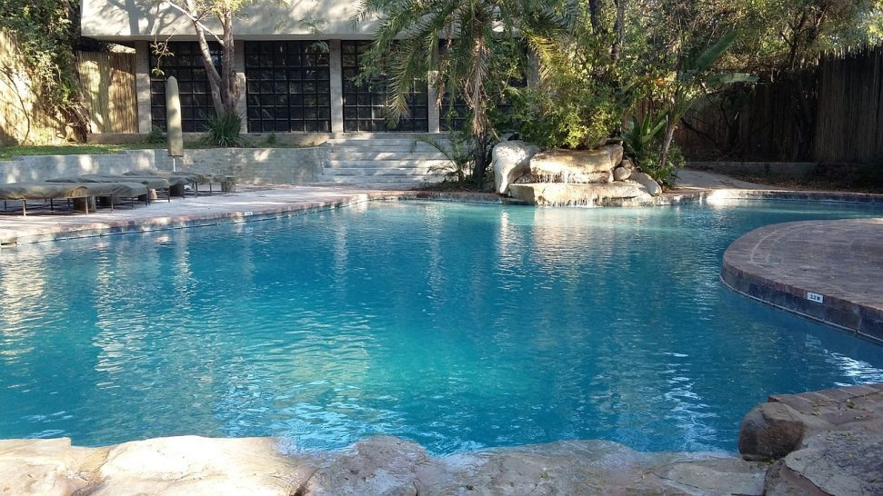 Londolozi Varty Camp pool