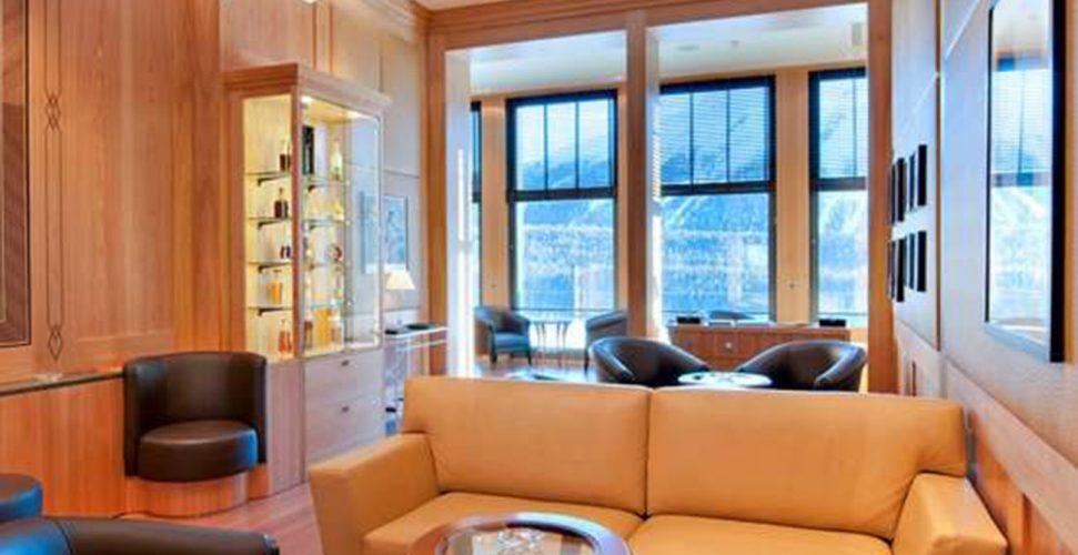 Kulm Hotel St. Moritz Miles Davis Lounge