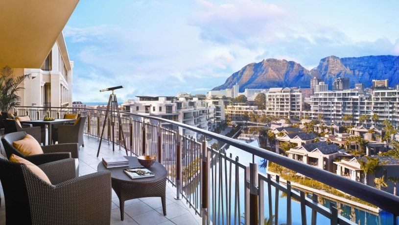 One and Only Cape Town Table Mountain Suite Balcony