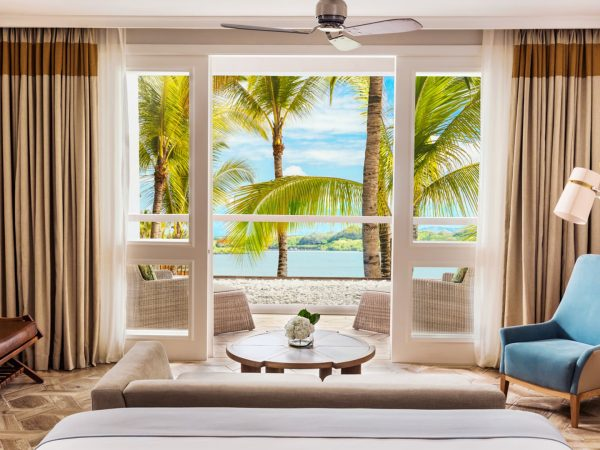 One and Only Le Saint G?ran Mauritius Three Bedroom Beach Front Balcony Suite