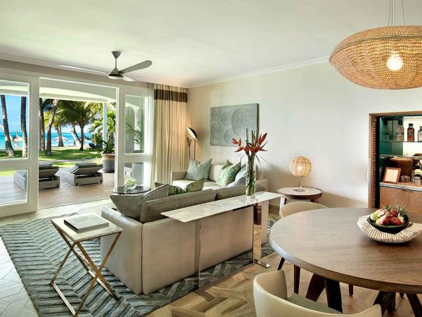 One and Only Le Saint G?ran Mauritius Three Bedroom Beachfront Suite
