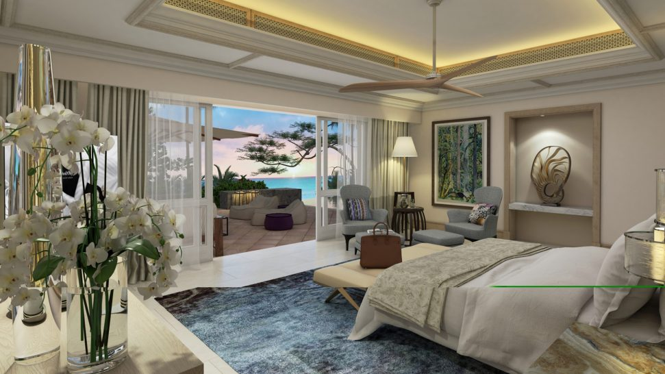 One and Only Le Saint G?ran Mauritius Two Bedroom Ocean Balcony Suite