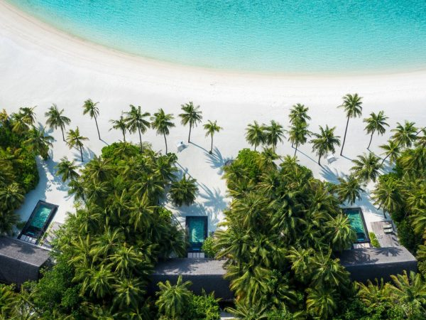 One and Only Reethi Rah Maldives Beach View