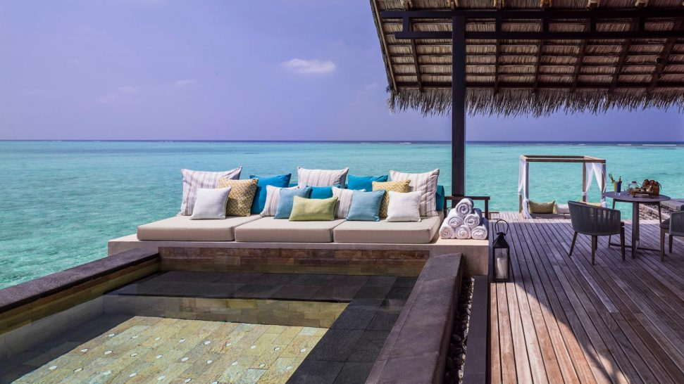 One and Only Reethi Rah Maldives Grand Water Villa with Pool