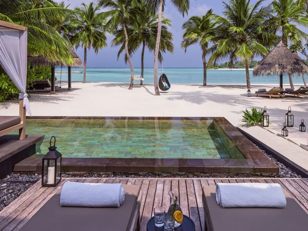 One and Only Reethi Rah Maldives Grand beach villa w pool
