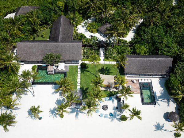 One and Only Reethi Rah Maldives Lobby Top View