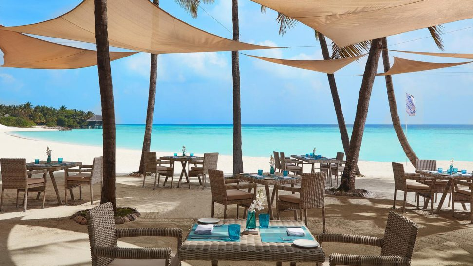 One and Only Reethi Rah Maldives The Beach Club at Clubone