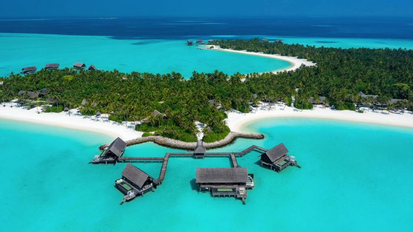 One and Only Reethi Rah Maldives Top View