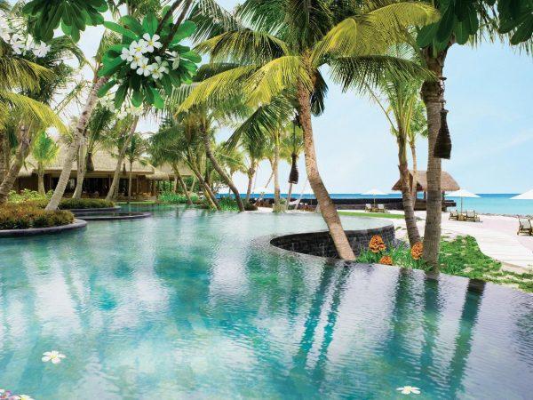 One and Only Reethi Rah Maldives pool lagoon pool