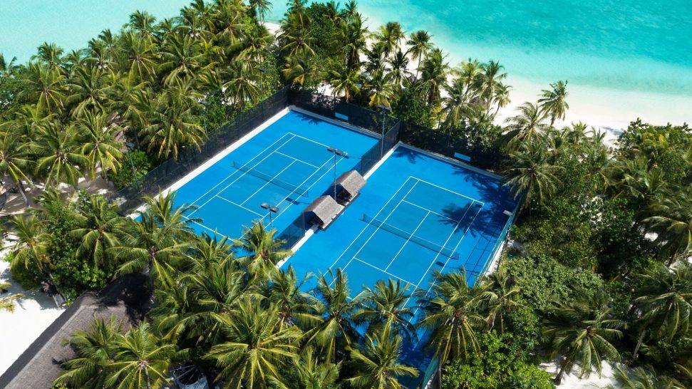 One and Only Reethi Rah Maldives tennis