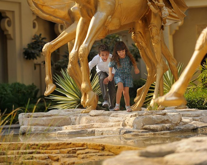 One and Only Royal Mirage Dubai Kids Activities