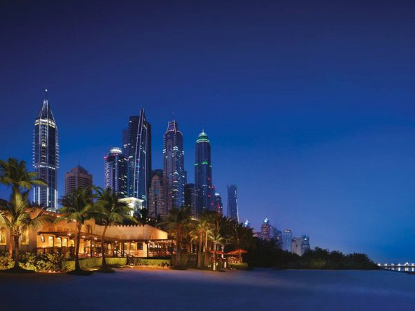 One and Only Royal Mirage Dubai Night View