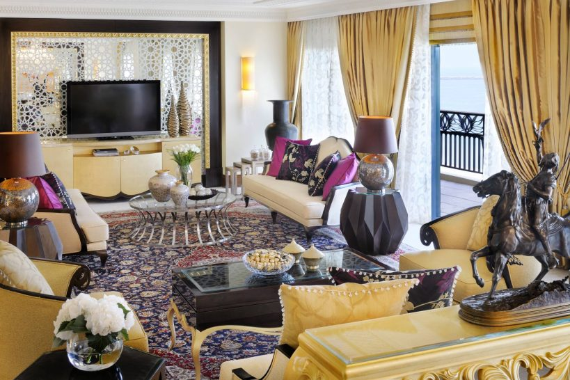 One and Only Royal Mirage Dubai Royal Suite