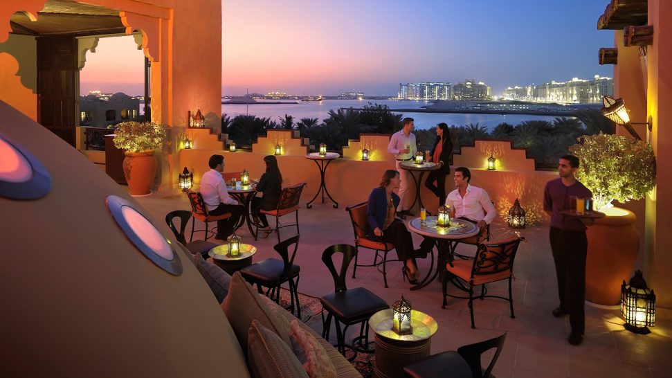 One and Only Royal Mirage Dubai The Rooftop Terrace & Sports Lounge