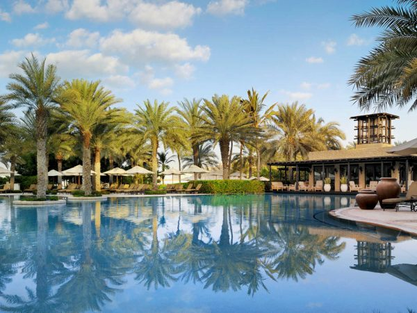 One and Only Royal Mirage pool at Arabian Court