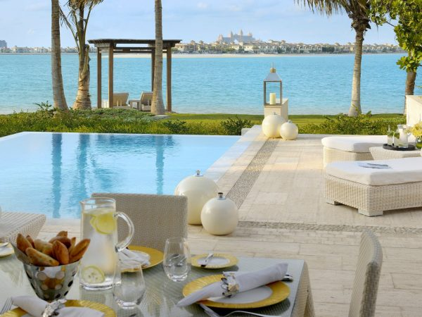 One and Only The Palm Dubai Beachfront villa