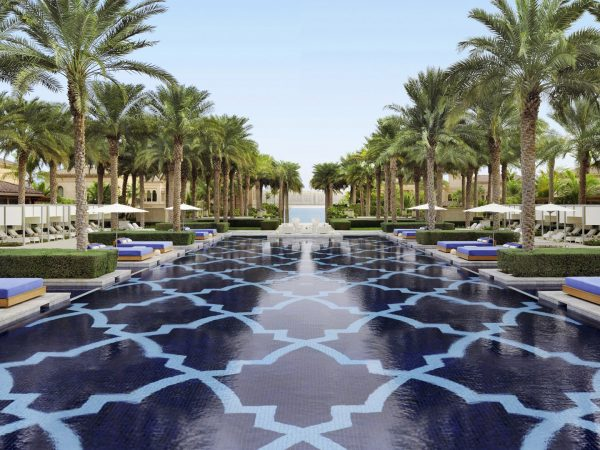One and Only The Palm Dubai Garden
