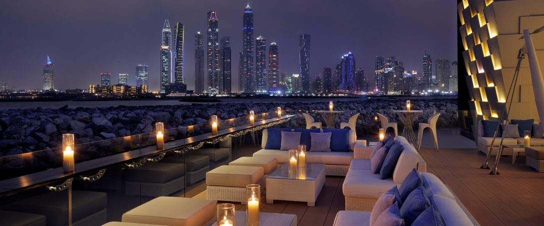One and Only The Palm Dubai Skyline dining lounge
