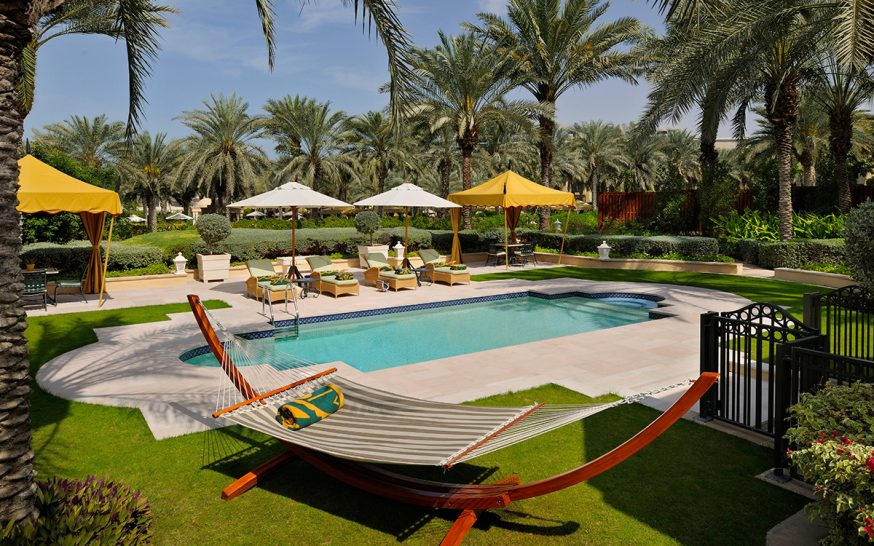 One and only royal mirage beach garden villa residence pool