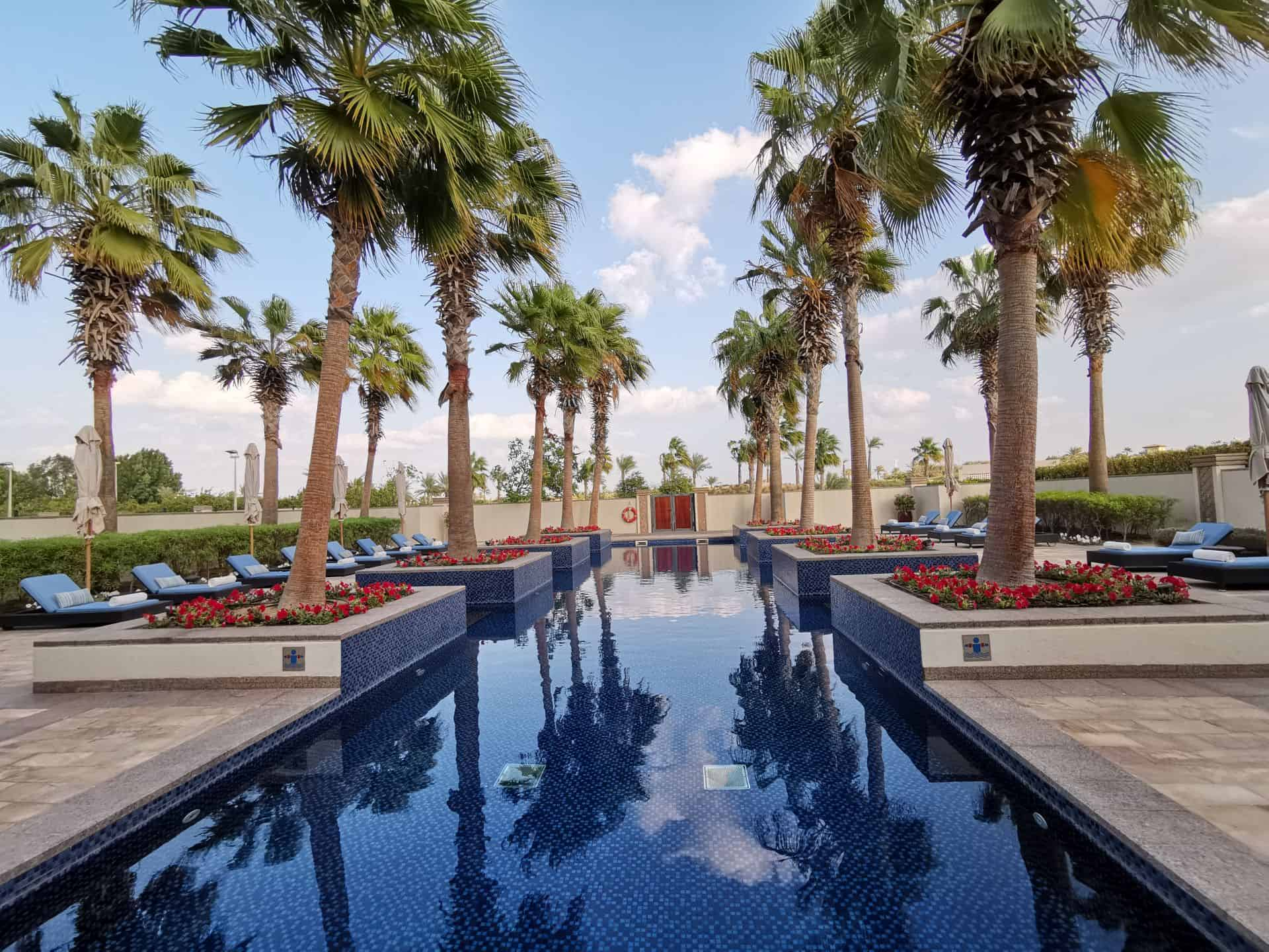 Park Hyatt Abu Dhabi Atarmia Spa outdoor lap pool