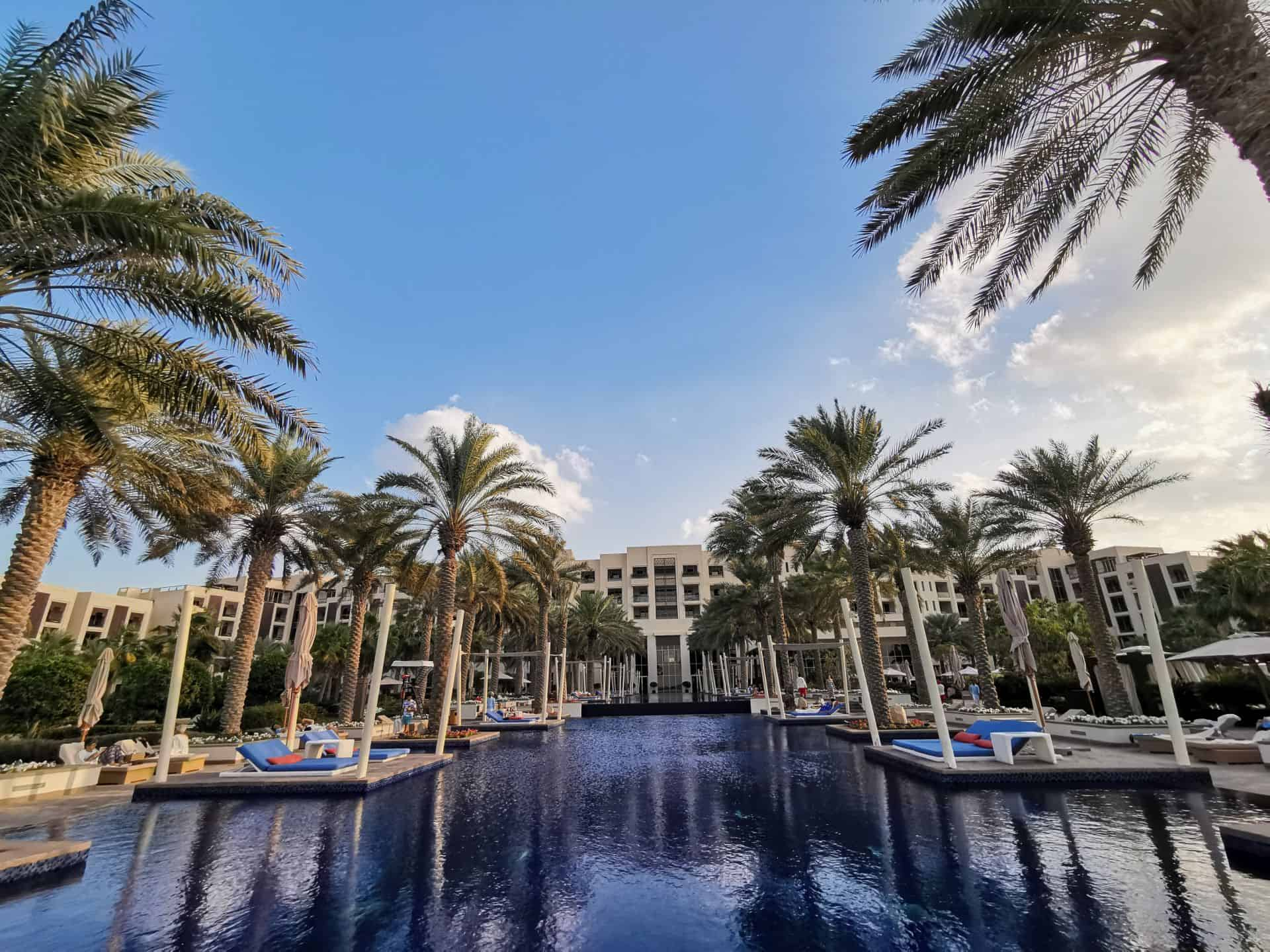 Park Hyatt Abu Dhabi main pool