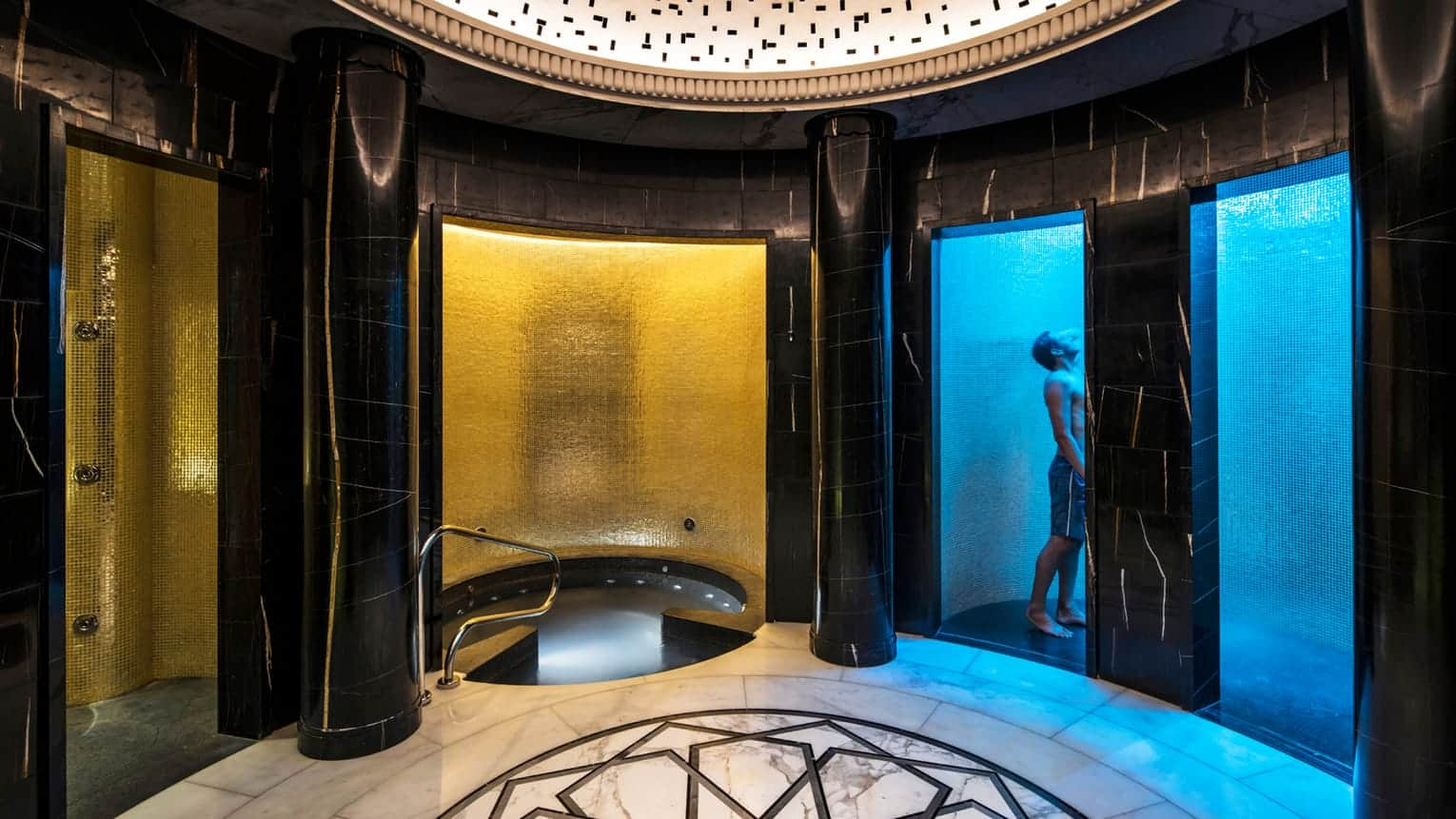 Pearl Spa experience showers