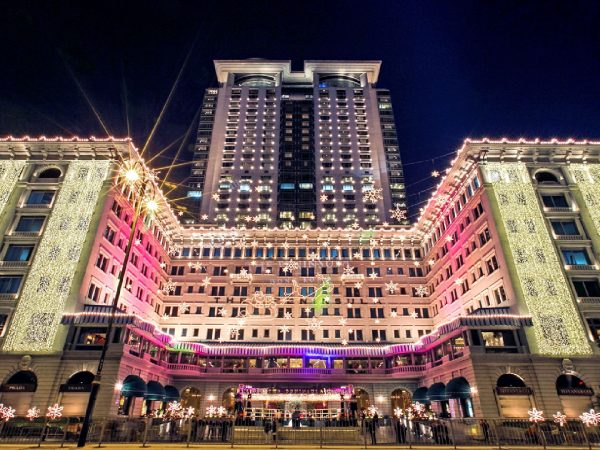 The Peninsula Hong Kong Lighting