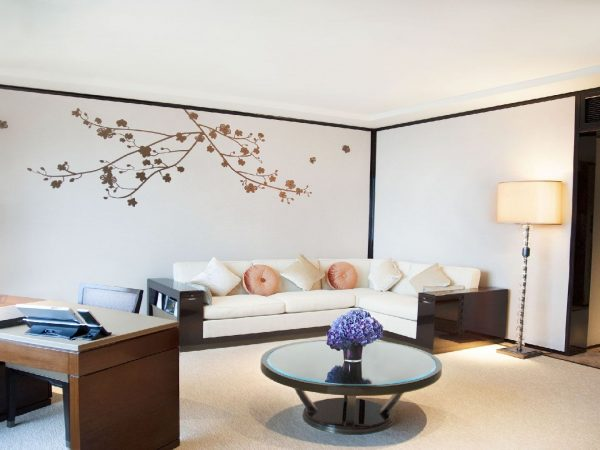 The Peninsula Hong Kong Superior HV Suite Living room