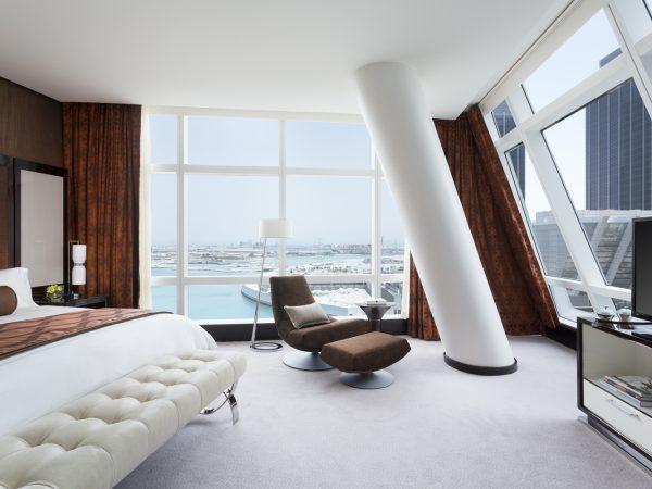 Rosewood Abu Dhabi Deluxe one Bedroom Suite