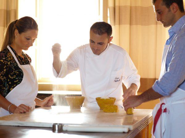 Rosewood Castiglion del Bosco Canonica Cooking School