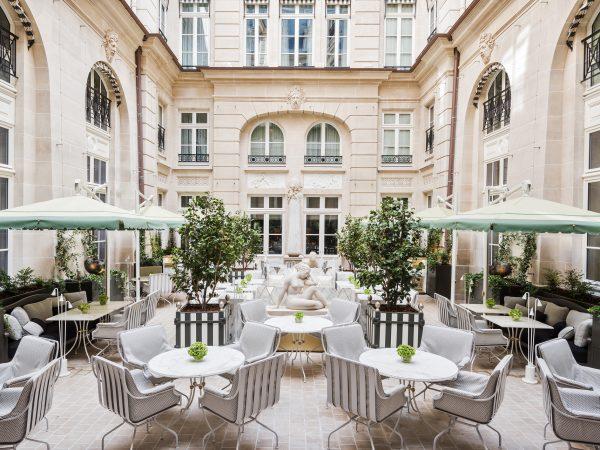 Rosewood De Crillon Paris Festive dining
