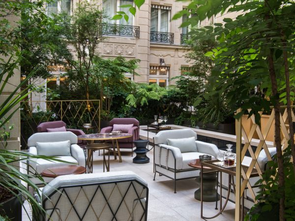Rosewood De Crillon Paris Garden View