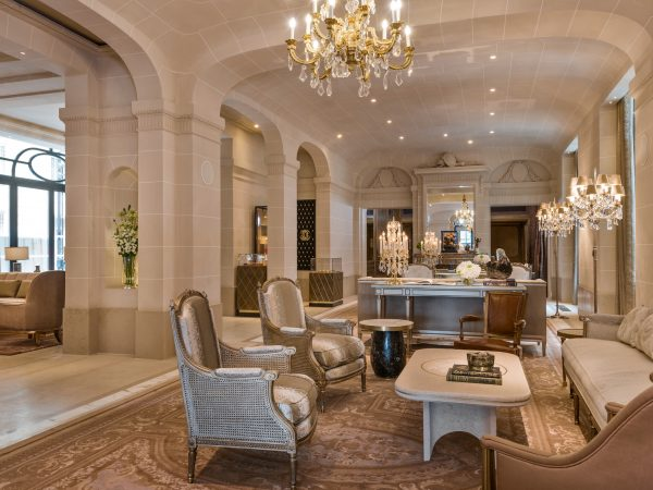 Rosewood De Crillon Paris Lobby View