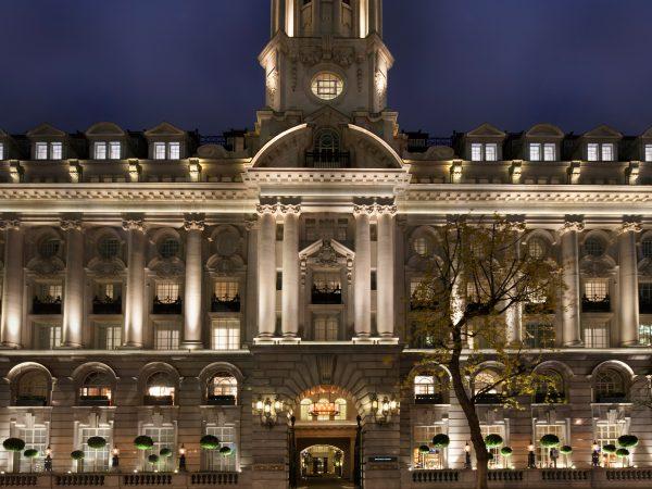 Rosewood London Exterior Night View