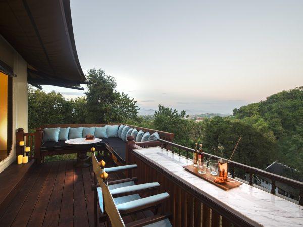 Rosewood Luang Prabang Hill Top Tents View