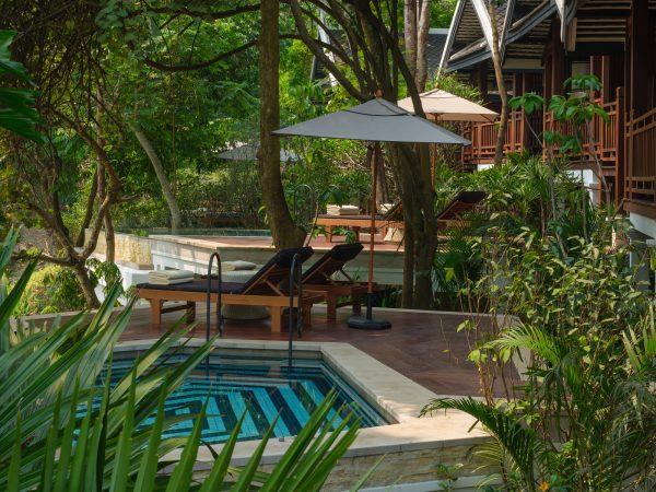 Rosewood Luang Prabang Lobby view