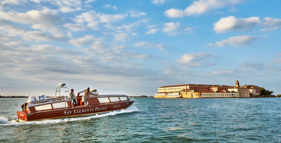 San Clemente Palace Kempinski Venice Boat Service
