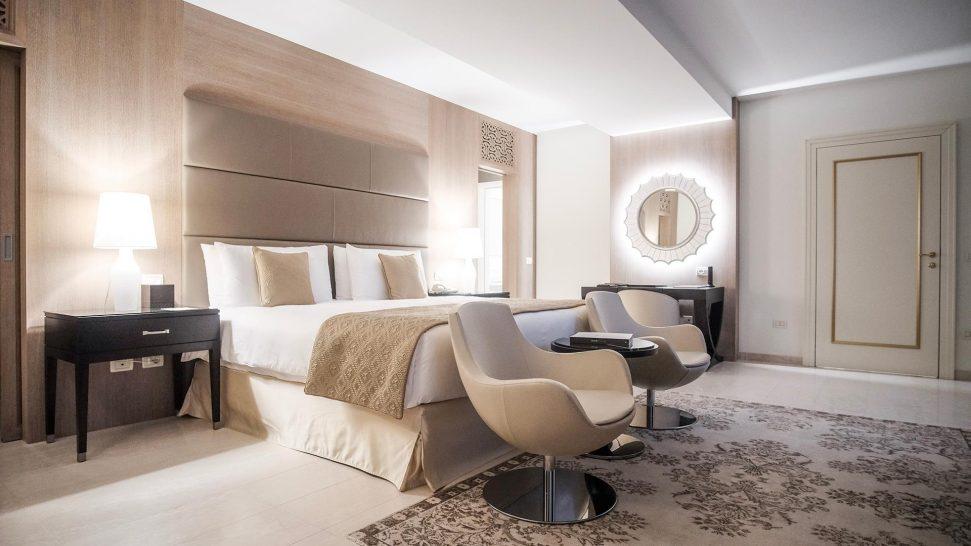 San Clemente Palace Kempinski Venice Lido Residence Bedroom