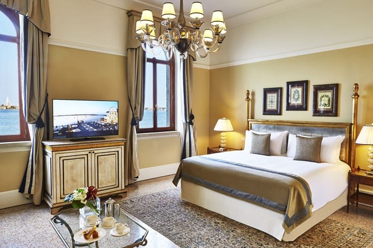 San Clemente Palace Kempinski Venice Navigante Junior Suite with lagoon view