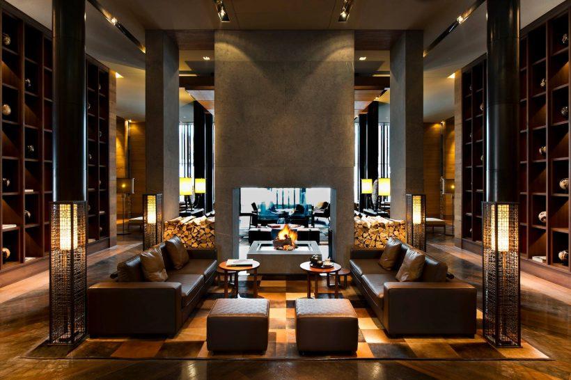 The Chedi Andermatt Bar and Living Room