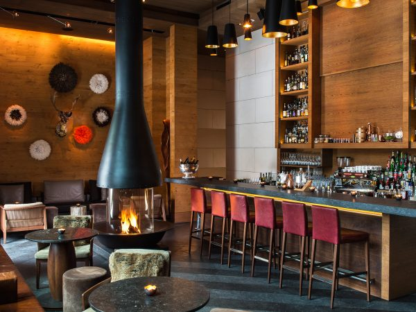 The Chedi Andermatt The Bar and Living Room