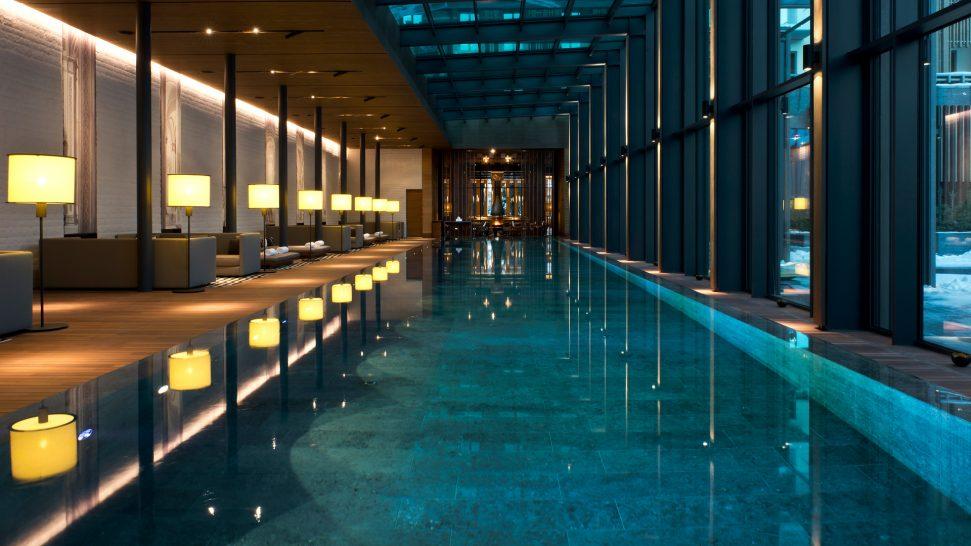 The Chedi Andermatt The Pool