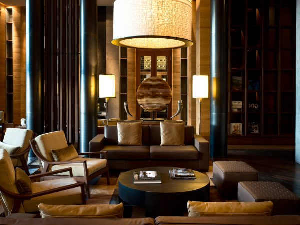 The Chedi Andermatt The Wine and Cigar Library