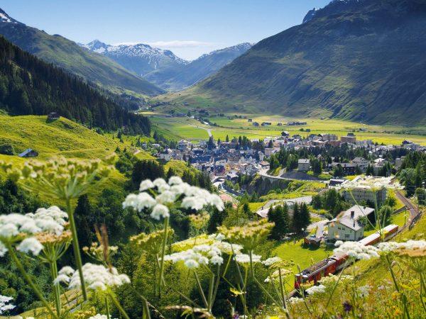 The Chedi Andermatt Top View