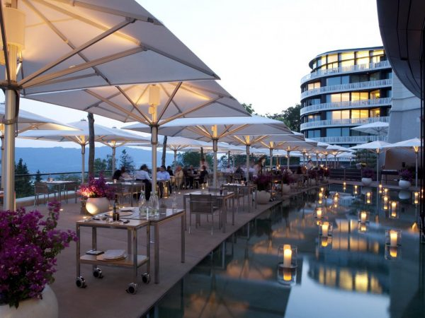 The Dolder Grand Switzerland Terrace Dining