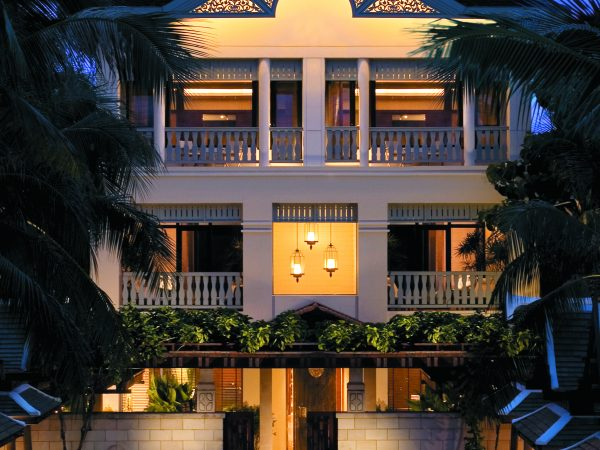 The Peninsula Bangkok Spa Exterior