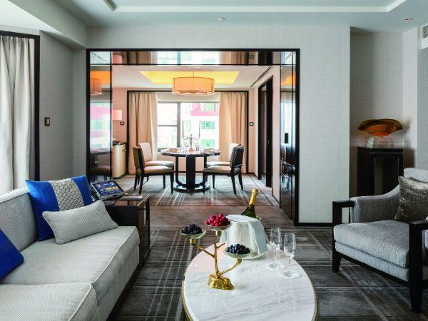 The Peninsula Beijing Suite Living Room