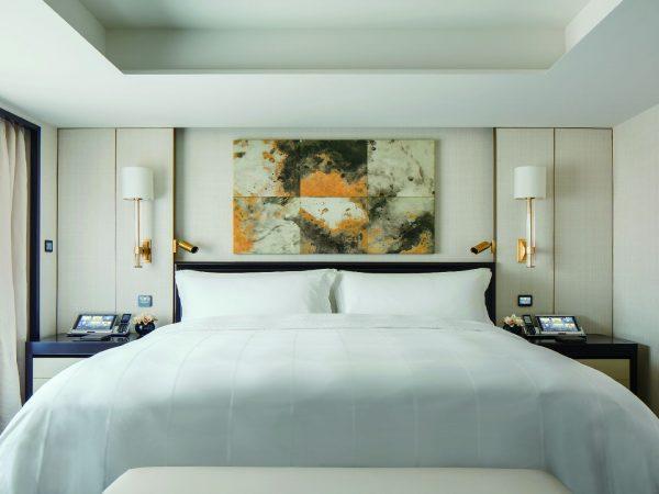 The Peninsula Beijing Suite Master bedroom